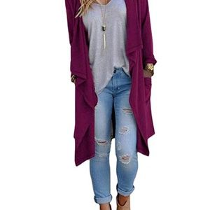 Jackets & Coats - NEW Women's Long Duster Sweater Cardigan